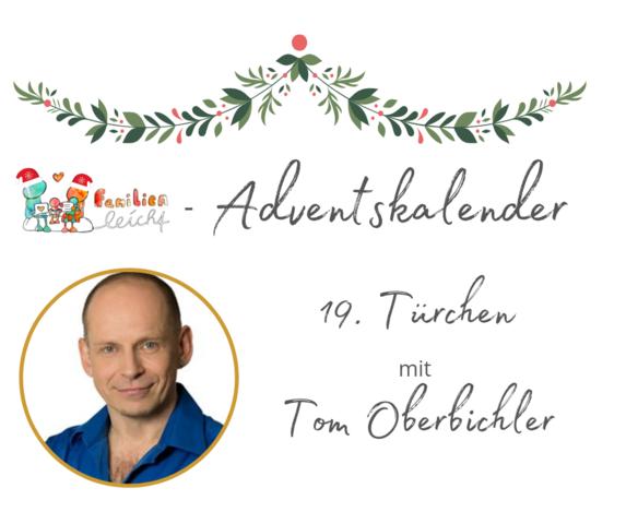 Speaker - Tom Oberbichler