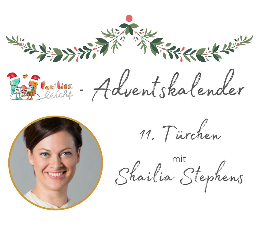 Speaker - Shailia Stephens